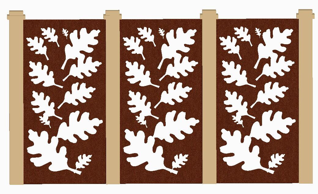 Laser cutting decorative screens